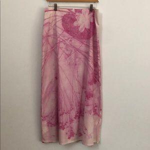 Anthropologie long skirt